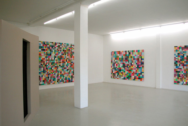 Installation view '1st colourRoom', Ellen de Bruijne Projects, Amsterdam - Click image to return.