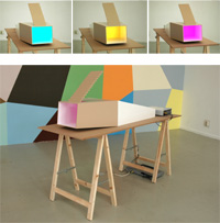 Model for '2nd ColourRoom (upside-down tree)' - by George Korsmit