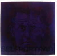 'Untitled selfportrait (Ludwig Wittgenstein)' - by George Korsmit